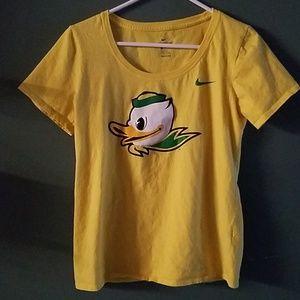 Oregon duck nike t-shirt
